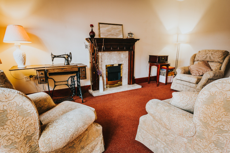 South Moor Lodge care home lounge