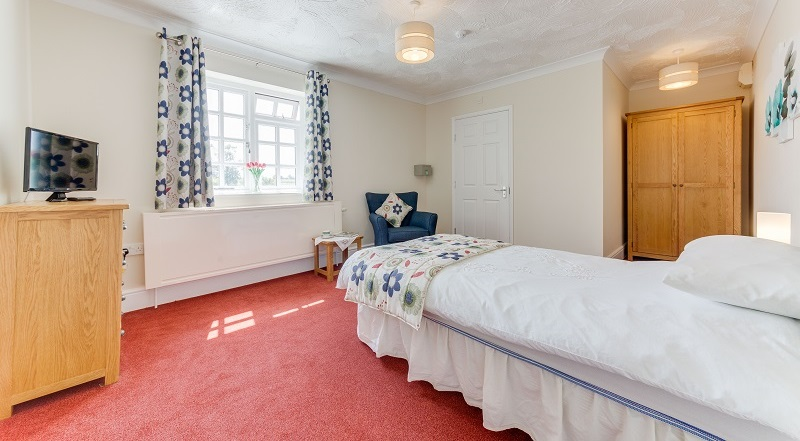Care home residential room